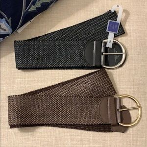 GAP brown and black belts